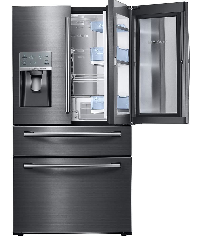 Samsung - Showcase 27.8 Cu. Ft. 4-Door French Door Refrigerator